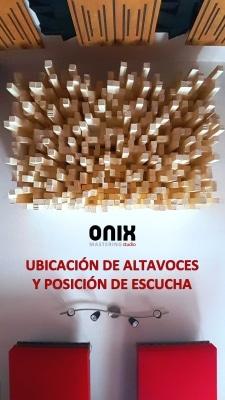 Onix Mastering Studio - Ubicación de altavoces y posición de escucha - PDF cover para Newsletter