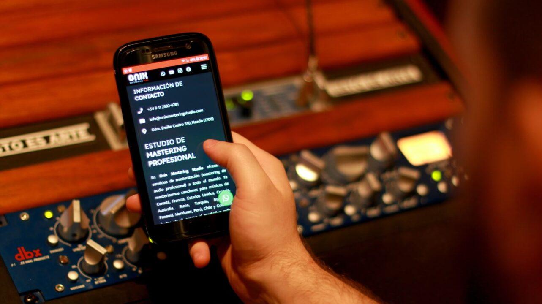 Contacto - Onix Mastering Studio - Estudio de masterización profesional en Buenos Aires - Argentina